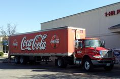 Coca Cola International Delivery Truck, Cedar Park, TX | Flickr ...