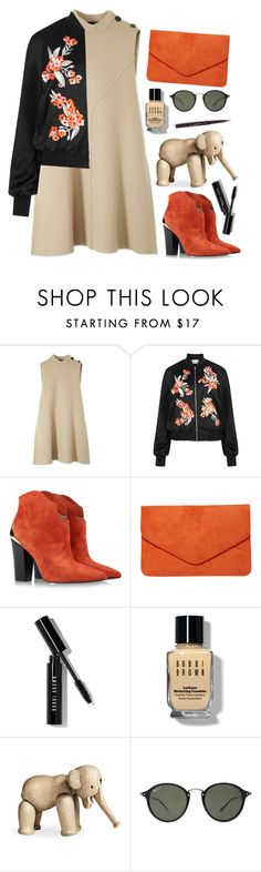 """Bomber jacket"" by bo-jane ❤ liked on Polyvore featuring Derek Lam, Jonathan Saunders, Sigerson Morrison, Dorothy Perkins, Bobbi Brown Cosmetics, Kay Bojesen, Ray-Ban, Dolce&Gabbana, women's clothing and women"
