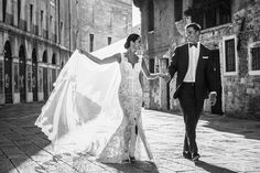 Venice, Italy wedding by fashion and wedding photographer in Italy www.whitefashionphotographer.com The Bride in stunning lace wedding gown Steven Khalill #stevenkhalil #gown Are you dreaming about wedding in Venice? Venice Wedding by WHITE fashion wedding photographer #italy #venice #wedding #bridal #bride #fashion #vogue #destination #engaged #brides