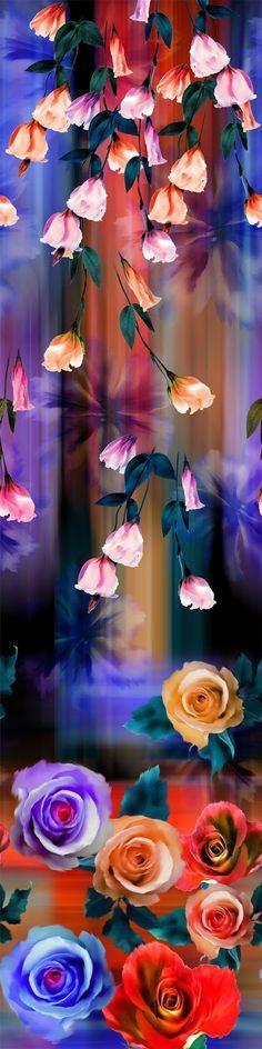 PAINTING_Flower Design_Digital Print_1   Blisse Design Studio