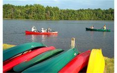 Paddling at Sesquicentennial State Park