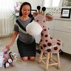 9 Tips for knitting – By Zazok Crochet Animals, Crochet Toys, Knit Crochet, Crochet Cushions, Crochet Dishcloths, Octopus Crochet Pattern, Stool Cover Crochet, Crochet For Kids, Baby Sewing