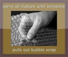 Bubble wrap is the best!!! I use it at circle all the time, calms the kids down quick & ensures quiet from everyone POP POP POP