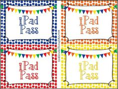 3rd Grade Thoughts: Setting Up iPads in Our Classroom