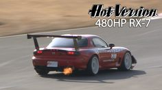 Drift King Tames the 480HP RE-WING RX-7 - Hot Version Volume 127