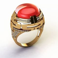 ring#gold#agate#modeling #bvlgari#jewelry #jewelrydesigner