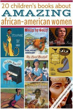20 wonderful biographies for kids about important African-American women. Click through for all the picture and chapter book selections.