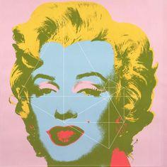 Warhols Marilyn mit Spiralschnitt