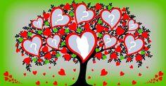 Linda Arvore do Amor com 9 Amigos. Crie a Sua!