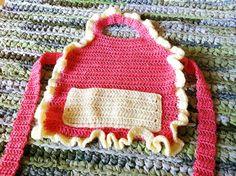Free pattern Child's Apron.  Cute!