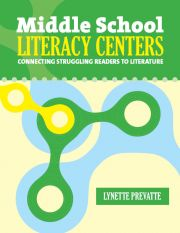 Middle School Literacy Centers (E-BOOK) - Lynette Prevatte - Authors • Maupin House