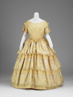Limik's dress from Flannery in San Francisco, 1850