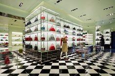 Prada store by Roberto Baciocchi, Stockholm – Sweden