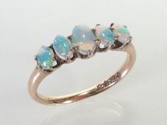 Antique Opal Ring 10K Gold by lonestarestates on Etsy. via Etsy.