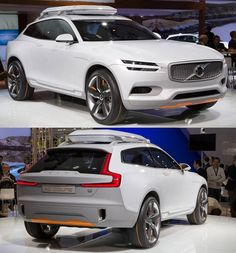 #Volvo XC Coupe Concept shows us the future design direction of the popular XC SUVs.