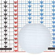 8 Inch White Paper Lantern