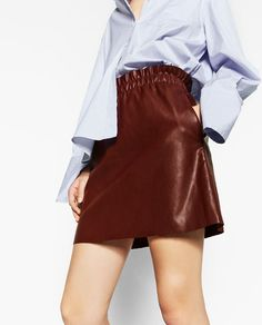Leather cuir