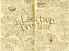 Website has lists of books that show each learner profile