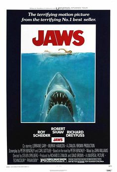Jaws - A movie that changed the industry, a story superbly told with visuals, superbly edited.