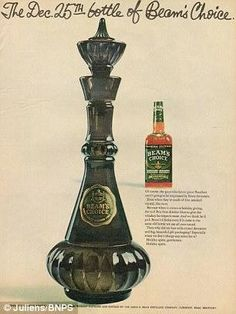 """1964 special edition Jim Beam is what they used for the """"I Dream of Jeannie"""" bottles!"""