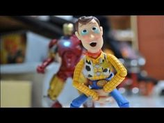 Subscribe=http://www.youtube.com/subscription_center?add_user=counter656  My video number 13 ,see what happen when Iron man mets with Woody and Buzz Lightyear, they seems to dislike each other....  Facebook: Counter656 http://www.facebook.com/pages/Counter656/192058287535877  Behind the scenes http://counter656-productions.blogspot.com/ Woody : ...