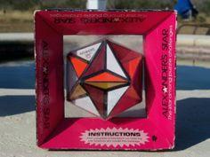 1982 Vintage Alexander's Star Puzzle Rubix Cube Style Brain Twister Puzzle