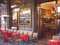 The Giubbe Rosse - Florence