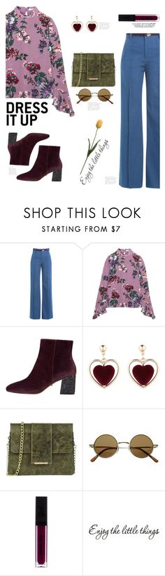 """""""WideLegJeans"""" by eda07 ❤ liked on Polyvore featuring Marc Jacobs, Erdem, MANGO, Tuscany Leather, denimtrend and widelegjeans"""