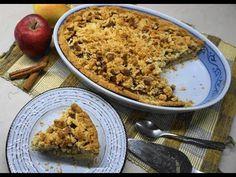 Μηλόπιτα φανταστική με τριφτή ζύμη - apple pie | Greek Cooking by Katerina - YouTube