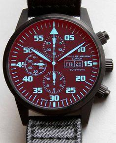 Maurice de Mauriac Chronograph Modern Tactical Vision Watch Review
