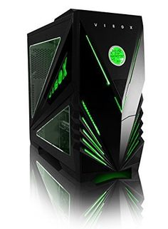VIBOX Predator Green Midi ATX Desktop Computer Gaming PC Case Tower Chassis with Easy Access USB Ports, Temperature Display, LED Cooling Fans and Clear Side Panel Window - http://www.computerlaptoprepairsyork.co.uk/desktop-computers/vibox-predator-green-midi-atx-desktop-computer-gaming-pc-case-tower-chassis-with-easy-access-usb-ports-temperature-display-led-cooling-fans-and-clear-side-panel-window