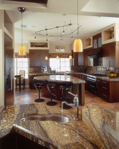 LOVE the countertop!   Kitchen examples - eclectic - kitchen - san diego - Marrokal Design & Remodeling