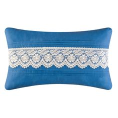 C & F Enterprises Hampstead Lace LumbarPillow