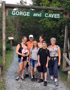 Family weekend getaway Lost River New Hampshire