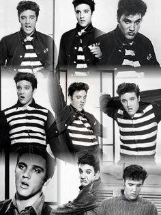 "Elvis ""Jailhouse Rock"" collage"