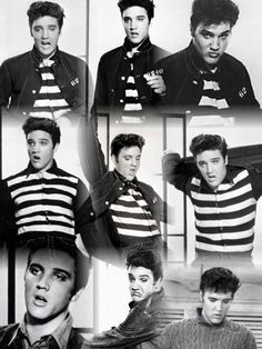 "Elvis ""Jailhouse Rock"" collage"