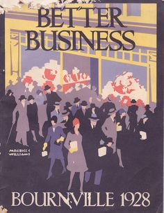 Cadbury Bros., Bournville, Birmingham - Better Business - annual, 1928 by mikeyashworth, via Flickr