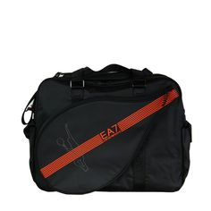 EA7 Emporio Armani Mens Sports Bag in Oxford Black - official sponsors of the Italian 2012 Olympic team.  Visit www.hypedirect.com