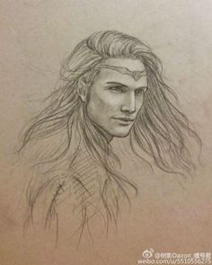 Fëanor. Found on Pinterest. (Not an artist link but the name is bottom right).