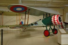 The Nieuport 28 was rejected by the French air force in World War I in favor of the Spad XIII, but pilots with the American Expeditionary Force made do with it until enough Spads became available.