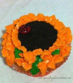 #Oreo #Sunflower Cupcakes