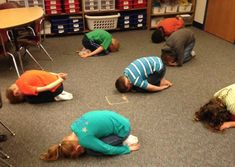 Kids Yoga in Schools: Getting First Graders Ready to Write - Sing Song Yoga