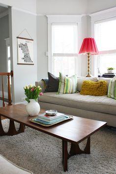 """Meg & Joe's """"In Full Bloom"""" House Tour living room"""