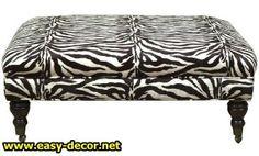 zebra-ottoman