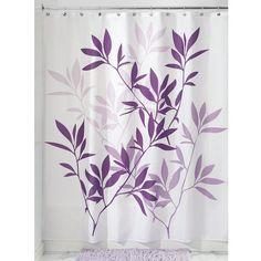Loretta Blue Embroidered Shower Curtain   Shower Curtains + ...