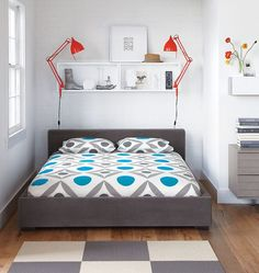 http://www.ireado.com/pamper-your-sleep-with-modern-bedroom-furniture-sets/?preview=true Pamper Your Sleep with Modern Bedroom Furniture Sets : A Bright Geometric Bedroom Modern Bedroom Furniture Sets