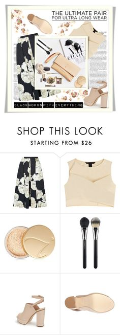 """""""Black Works With Everything"""" by emcf3548 ❤ liked on Polyvore featuring Fenn Wright Manson, Marc by Marc Jacobs, Jane Iredale, MAC Cosmetics, Topshop and Urban Decay"""