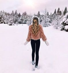 41 Best Ideas For Travel Outfit Ideas Winter Winter Looks, Winter Snow, Disney Outfits, Photo Ski, Winter Wonderland, Outfit Invierno, Snow Outfit, Foto Casual, Winter Pictures