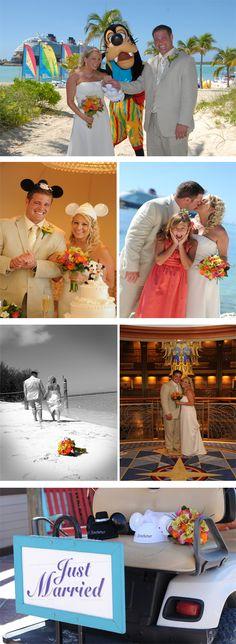 Disney's Castaway Cay nuptials