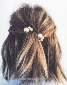 hair with pearl details…  hair with pearl details  http://www.fashionhaircuts.party/2017/07/02/hair-with-pearl-details/